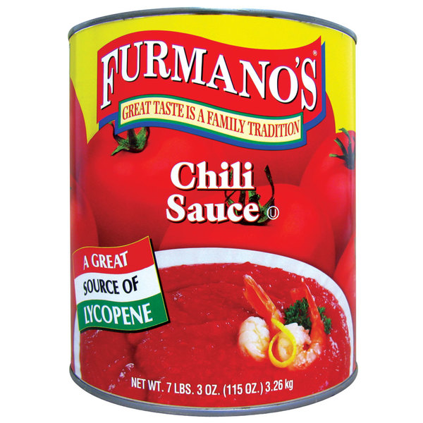 Furmano's Chili Sauce #10 Can