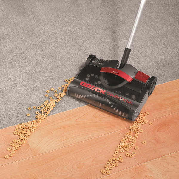 """Oreck CK20110 10 1/2"""" Rechargeable Sweeper"""