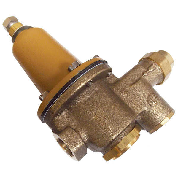 "Jackson 04820-100-04-07 1/2"" NPT Water Pressure Reducing Valve - 300 PSI Max, 50 PSI Delivery"