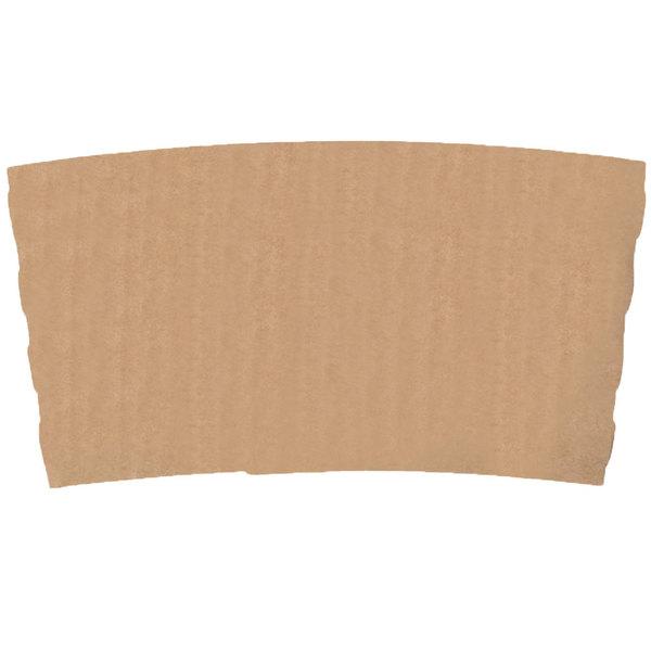 EcoChoice 10-20 oz. Kraft Coffee Cup Sleeve / Jacket / Clutch - 1200/Case