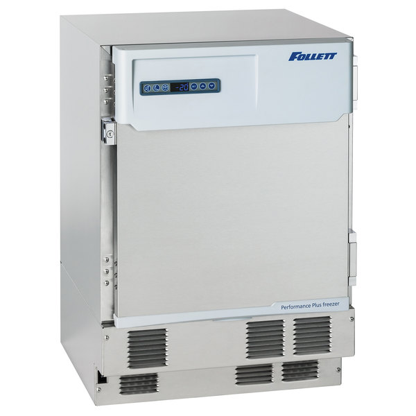 """Follett FZR4P-KP-00 Performance Plus 23 3/4"""" ADA Compatible Front Breathing Medical Grade Undercounter Freezer with Keypad - 3.9 Cu. Ft. Main Image 1"""