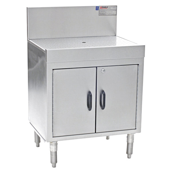 """Eagle Group WBCB42-24 Spec-Bar 42"""" x 24"""" Workboard with Cabinet"""