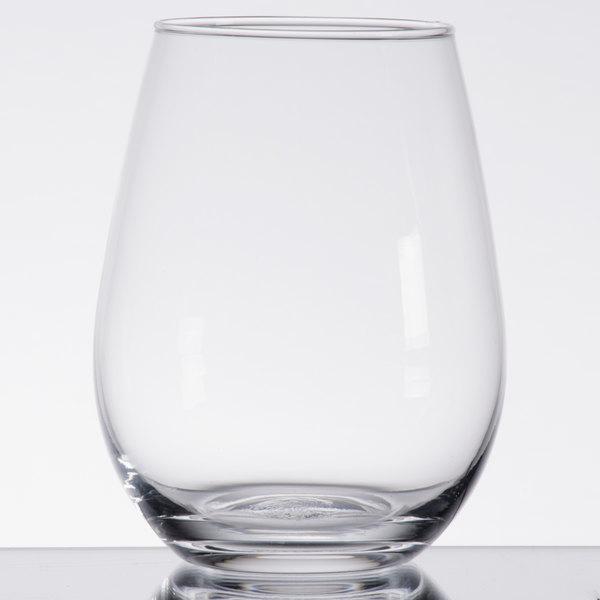 Acopa 12 oz. Customizable Stemless Wine Glass - 12/Case
