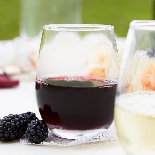Acopa 9 oz. Stemless Wine Glass - 12/Case Main Image 2