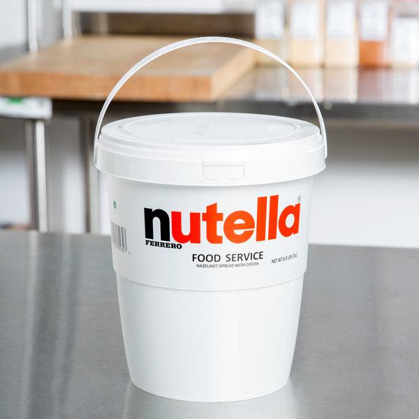 Nutella Hazelnut Spread 6.6 lb. Tub - 2/Case