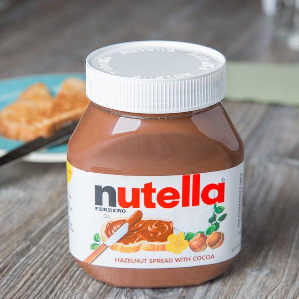 Nutella Hazelnut Spread 26.5 oz. Jar - 12/Case Main Image 2