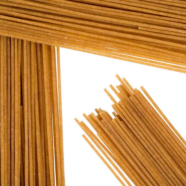 Close up of wheat pasta