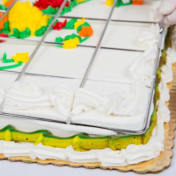 54 Piece Stainless Steel Full Size Sheet Cake Marker