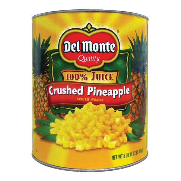 Del Monte #10 Can Coarse Crushed Pineapple in Juice