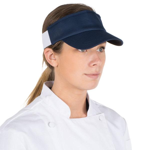 Navy Blue Chef Visor