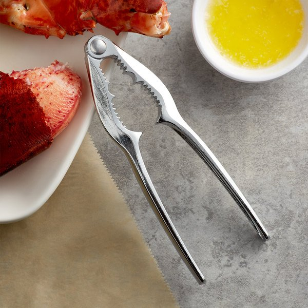 "Choice 6"" Double Jaw Zinc-Plated Steel Lobster Cracker Main Image 2"