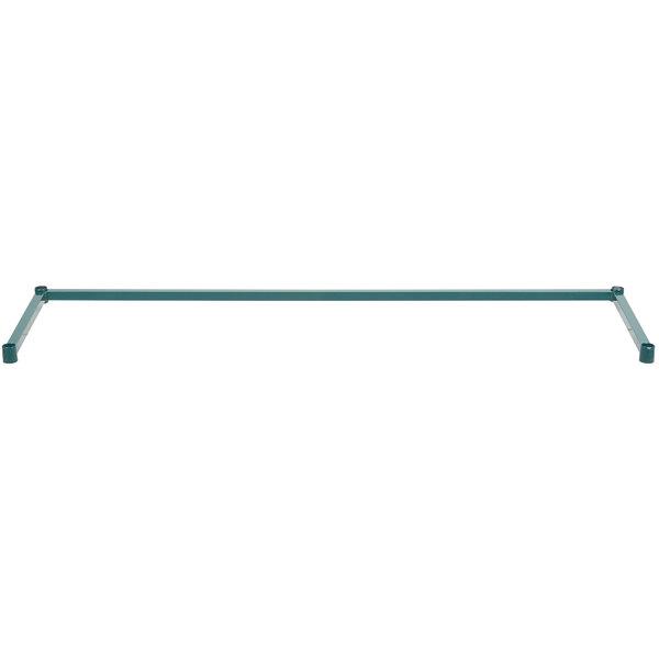 "Regency 18"" x 60"" Green Epoxy 3-Sided Shelving Frame"