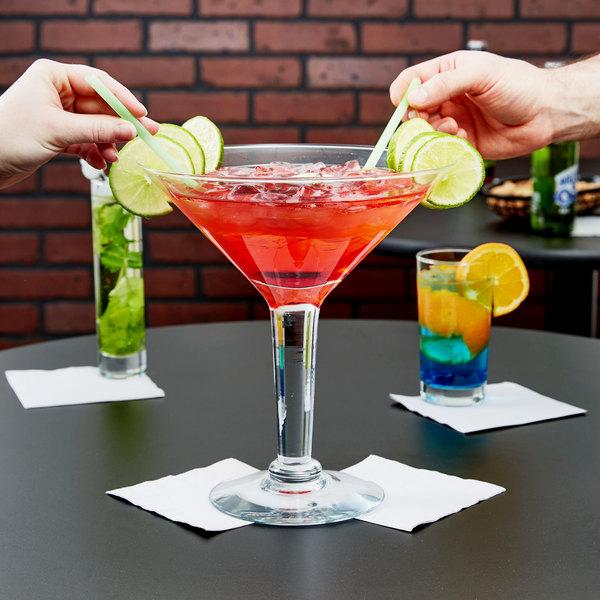 Libbey 9570101 Super Stems 44 oz. Super Martini Glass - 6/Case