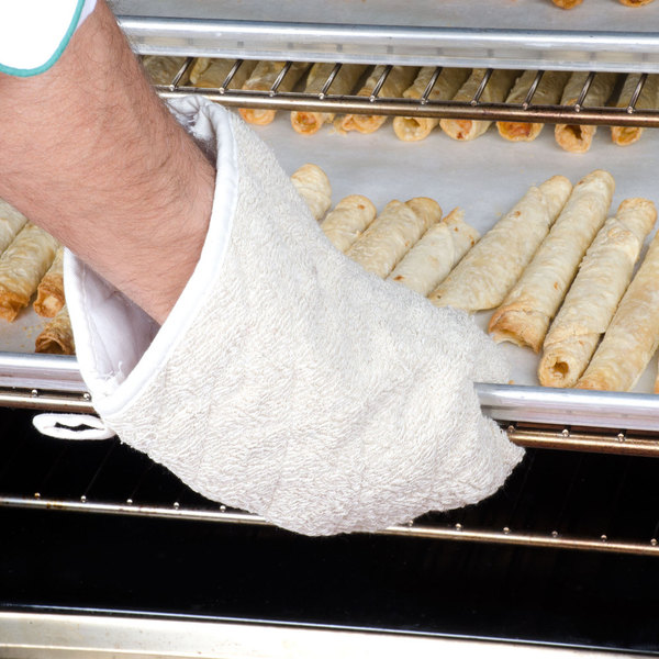 "Choice 13"" Terry Oven Mitts - 2/Pack"