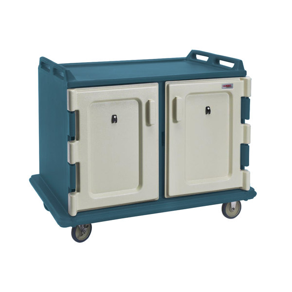 Cambro MDC1520S20192 Granite Green Meal Delivery Cart 20 Tray Main Image 1