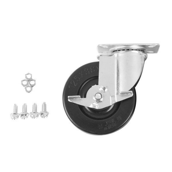 Cooking Performance Group 302090080 4 3/4 inch Plate Caster with Brake