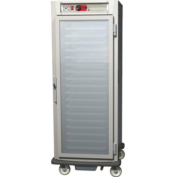 Metro C589-SFC-UPFC C5 8 Series Reach-In Pass-Through Heated Holding Cabinet - Clear Full Doors Main Image 1