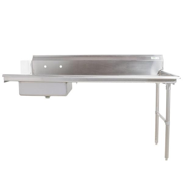 Right Drainboard Regency 16 Gauge 7' Soiled / Dirty Dish Table