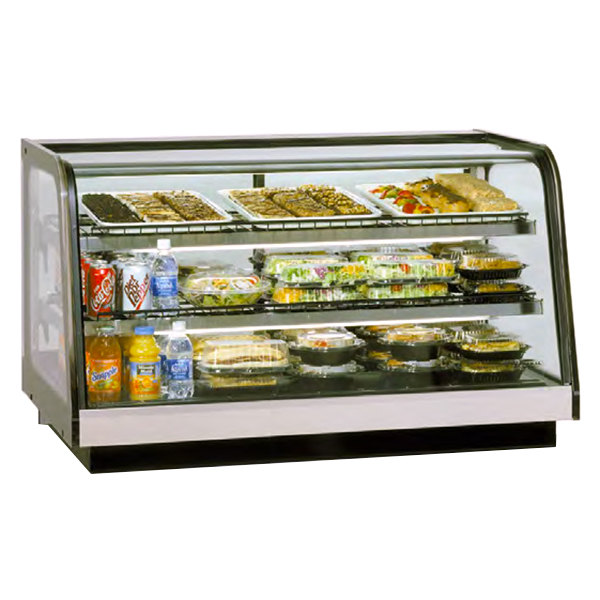 """Federal Industries CRB4828 Signature Series 48"""" Refrigerated Drop In Countertop Display Cabinet - 12.5 Cu. Ft."""