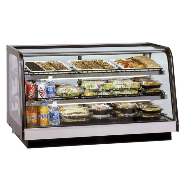 "Federal Industries CRB3628 Signature Series 36"" Refrigerated Drop In Countertop Display Cabinet - 9.25 Cu. Ft."