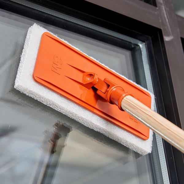 """3M 6472 Doodlebug 9"""" x 3 3/4"""" Orange Pad Holder Main Image 7"""