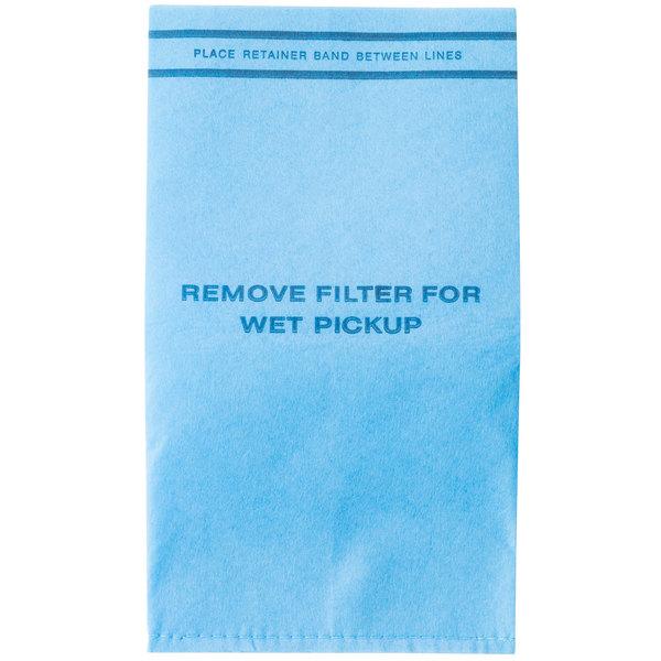 Workshop WS01025F2 2.5-5 Gallon Wet / Dry Vacuum Filter Bag - 6/Pack