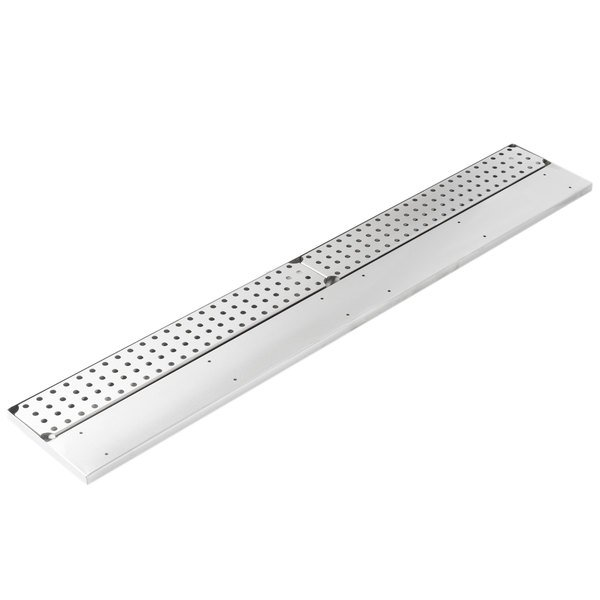 "Advance Tabco DRKR-48 48"" Stainless Steel Bar Drink Rail"