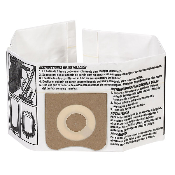 Workshop WS32045F2 3-4.5 Gallon Dust Collection Bag - 4/Pack