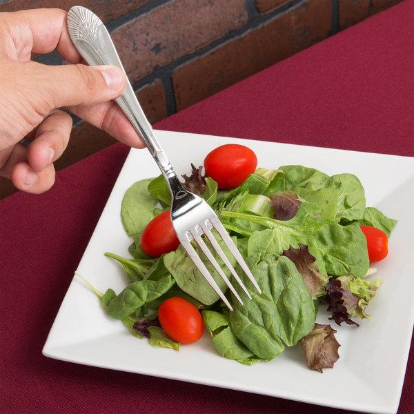 Marquis Flatware Stainless Steel Dinner Fork - 12/Case