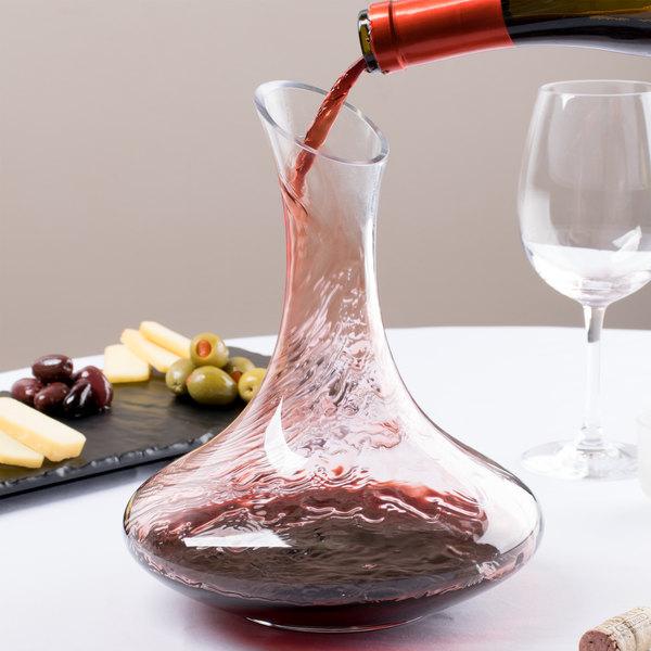 Core 26 oz. Slanted Glass Wine Decanter