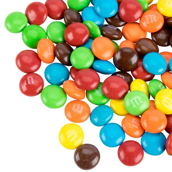 Milk Chocolate M&M's® Mini Baking Bits Topping - 25 lb.