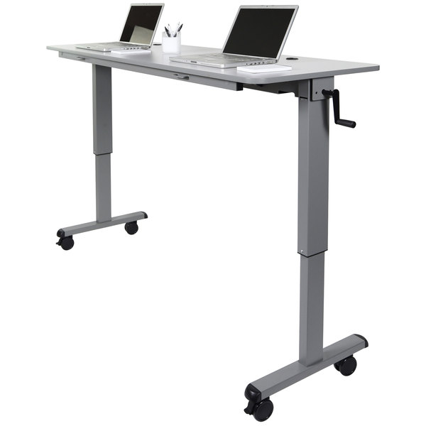 Luxor H Wilson Flip Top Nesting Table Adjustable Height - Adjustable training table