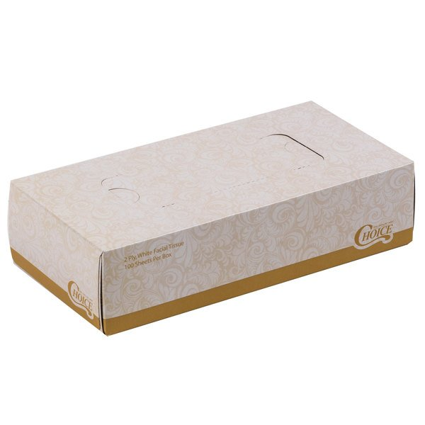 Excellent Quality Alert 36 X Facial Tissue 2ply Cube Boxes 2 Ply Disposable Office Catering Hotel 58p In