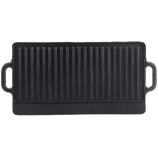 20 Inch X 9 1/2 Inch Cast Iron Portable Griddle Reversible