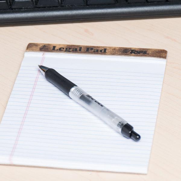 Avery 49988 eGEL Black Medium (0.7mm) Retractable Rollerball Gel Pen - 12/Pack