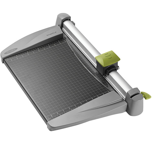 """Swingline 9615 SmartCut 15"""" x 20"""" 30 Sheet Commercial Heavy-Duty Rotary Paper Trimmer with Metal Base Main Image 1"""