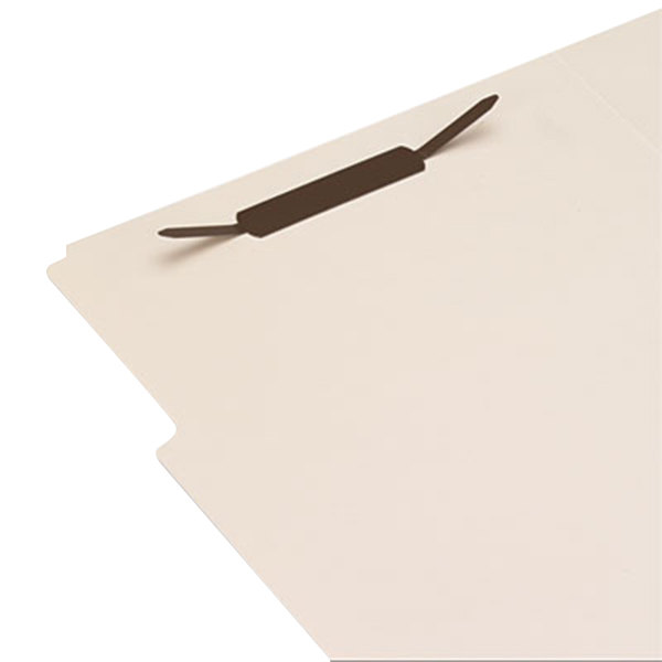 "Universal UNV81003 1"" Self-Adhesive Paper and File Fasteners - 100/Box"