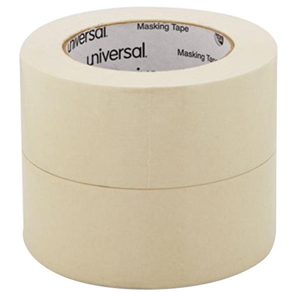 """Universal UNV51302CT 2"""" x 60 Yards General Purpose Masking Tape - 24/Case"""