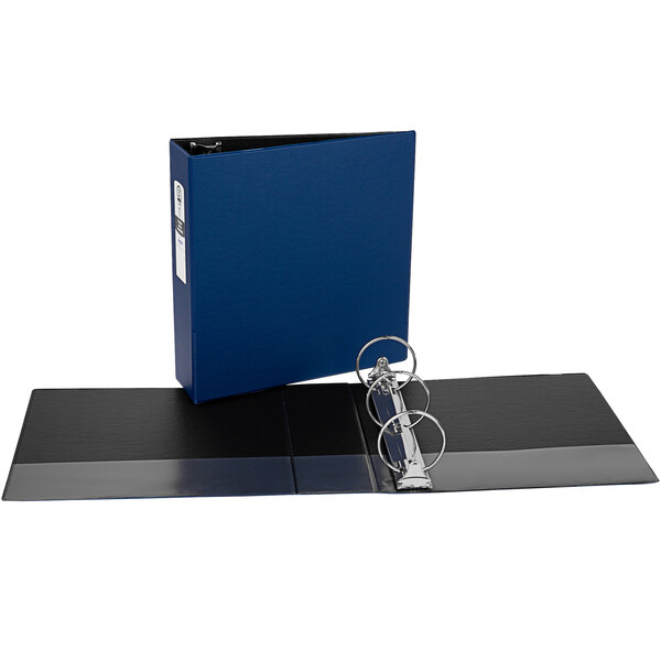 """Avery 3601 Blue Economy Non-View Binder with 3"""" Round Rings Main Image 1"""