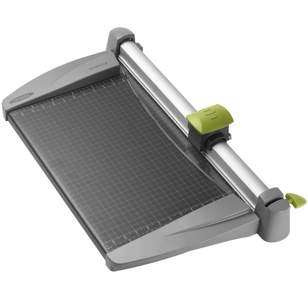 """Swingline 9618 SmartCut 15"""" x 23"""" 30 Sheet Commercial Heavy-Duty Rotary Paper Trimmer with Metal Base"""