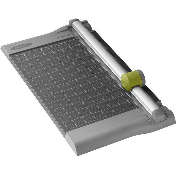 """Swingline 9512 SmartCut Pro 10 1/4"""" x 17 1/4"""" 10 Sheet Rotary Paper Trimmer with Metal Base"""