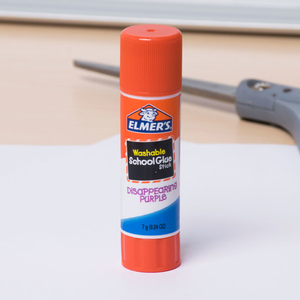 Elmer's E543 0.24 oz. Disappearing Purple School Glue Stick