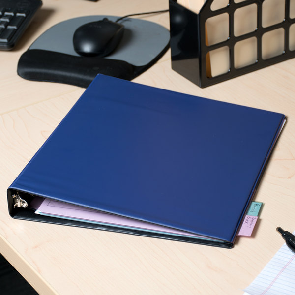 """Avery 03300 Blue Economy Non-View Binder with 1"""" Round Rings"""