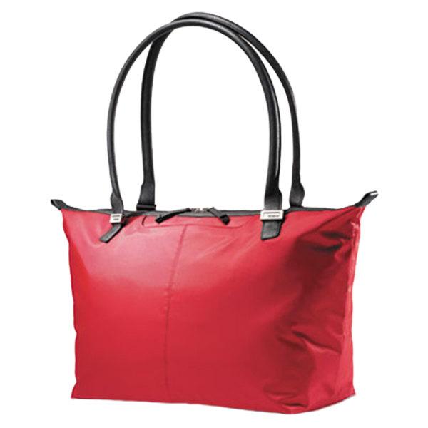 "Samsonite 494601761 Jordyn 21 1/4"" x 12"" x 7 1/2"" Red Top Loader Laptop Case / Tote Bag"