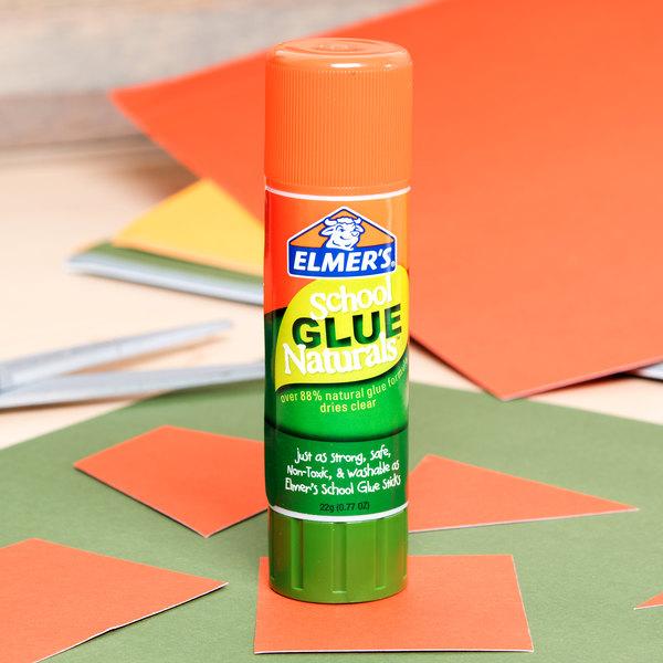 elmer s e5045 0 77 oz naturals clear school glue stick