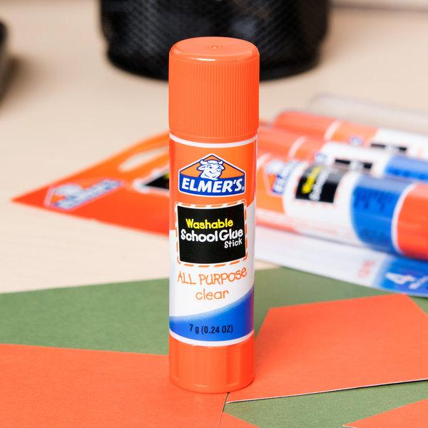 Elmer's E542 0.24 oz. Clear School Glue Stick - 4/Pack Main Image 7