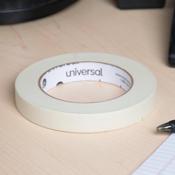 "Universal UNV51334 3/4"" x 60 Yards General Purpose Masking Tape - 6/Pack"