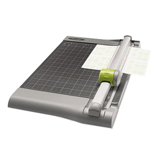 """Swingline 9612 SmartCut 12"""" x 22"""" 30 Sheet Commercial Heavy-Duty Rotary Paper Trimmer with Metal Base Main Image 4"""