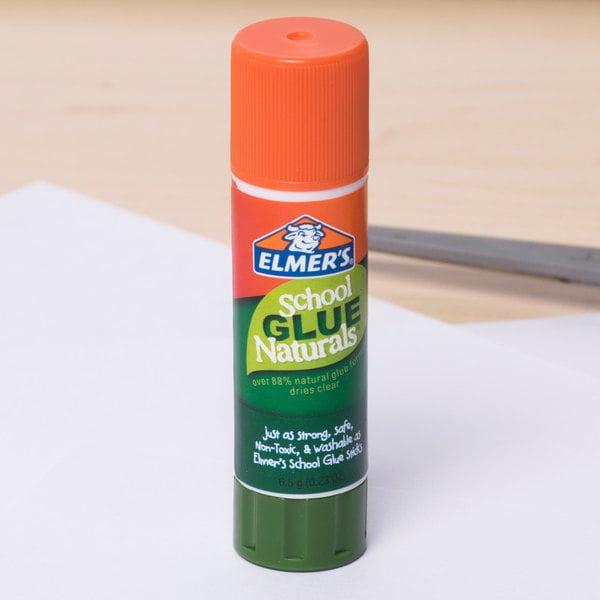 Elmer's E5044 0.21 oz. Naturals Clear School Glue Stick