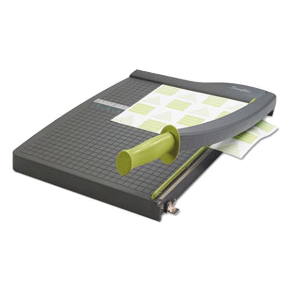 "Swingline 9315 ClassicCut Lite 15"" x 22 1/2"" 10 Sheet Guillotine Paper Trimmer with Plastic Base"
